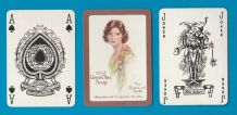 Vintage Advertising playing cards. C.W.S. green olive soap,
